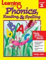 Learning Library Phonics Reading  Spelling Grade 1