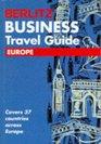 Berlitz Business Travel Guide Europe