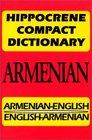 Hippocrene Compact Dictionary Armenian-English English-Armenian