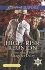 High-Risk Reunion (Lone Star Justice, Bk 1) (Love Inspired Suspense, No 562) (Larger Print)