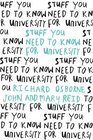 Stuff You Need to Know for University