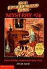 Dawn Schafer, Undercover Baby-Sitter (Baby-Sitters Club Mysteries, Bk 26)