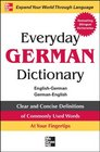 Everyday German Dictionary