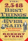 The 2548 Best Things Anybody Ever Said