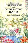Handbook of Greenhouse and Conservatory Plants