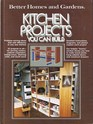 Kitchen Projects You Can Build (Better Homes and Gardens)