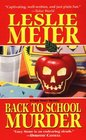 Back to School Murder (Lucy Stone, Bk 4)