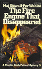 The Fire Engine That Disappeared (Martin Beck Police Mystery, 5)