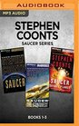 Stephen Coonts Saucer Series Books 1-3 Saucer Saucer The Conquest Saucer Savage Planet