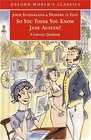 So You Think You Know Jane Austen? : A Literary Quizbook  (Oxford World's Classics)