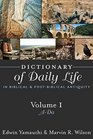 Dictionary of Daily Life in Biblical and PostBiblical Antiquity ADa