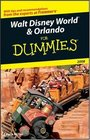 Walt Disney World  Orlando For Dummies 2008
