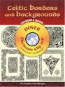 Celtic Borders and Backgrounds CD-ROM and Book