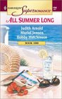 All Summer Long: Daddy's Girl / Home, Hearth and Haley / Temperature Rising (Harlequin Superromance, No 1000)
