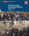 Twentieth Century History IGCSE International Relations since 1919