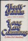 Long live Columbus  Leben zul Columbus