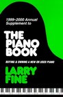 The Piano Book Buying  Owning a New or Used Piano 19992000 Annual