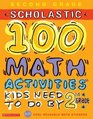 100 Words Math Workbook  2nd Grade