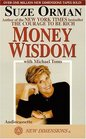 Money Wisdom - An Interview with Suze Orman