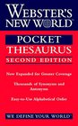 Webster's New World Pocket Thesaurus Second Edition