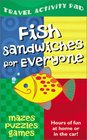 Fish Sandwiches for Everyone Travel Activity Pad Hours of Fun at Home or in the Car