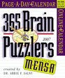 Mensa 365 Brain Puzzlers Page-A-Day Calendar 2007