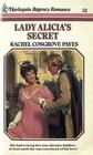 Lady Alicia's Secret (Harlequin Regency Romance, No 10)