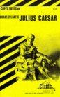Cliffs Notes: Shakespeare's Julius Caesar