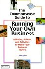 The Commonsense Guide to Running Your Own Business