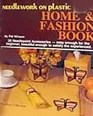 Needlework on Plastic Canvas Home & Fashion Book,  No 7389