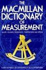 The Macmillan Dictionary of Measurement