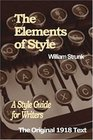 The Elements of Style A Style Guide for Writers