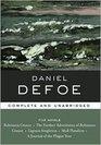 Daniel Defoe: Five Novels (Library of Essential Writers Series)