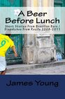 A Beer Before Lunch Stories From Brazilian Bars / Dispatches From Recife 2008-2011