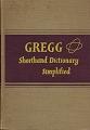 Gregg Shorthand Dictionary Simplified