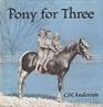 Pony for Three