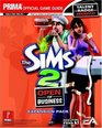 Sims 2 Open for Business  Prima Official Game Guide