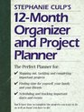 Stephanie Culp's 12Month Organizer and Project Planner
