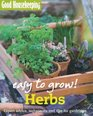 Herbs Expert Advice Techniques and Tips for Gardeners