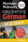 Merriam-Webster's Easy Learning German in a Click