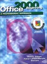 A Professional Approach Series Office 2000 Beginning Course Student Edition