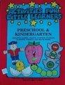 Activities for Little Learners Preschool  Kindergarten