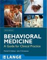 Behavioral Medicine in Primary Care A Practical Guide