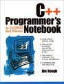 C++ Programmer's Notebook: An Illustrated Quick Reference