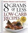 8 Grams or Less Low-Carb Recipes