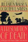 A Presumption of Death (Lord Peter Wimsey/Harriet Vane, Bk 2)