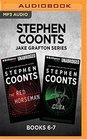 Stephen Coonts Jake Grafton Series Books 6-7 The Red Horseman  Cuba
