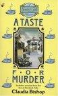 A Taste for Murder (Hemlock Falls, Bk 1)