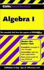 Algebra I (Cliffs Quick Review)