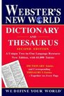 Sam's Webster's New World Dictionary and Thesaurus